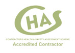 We are accredited with Chas goverment contractors